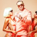 Rapper Riff Raff brings the 'Peach Panther' to Backbooth