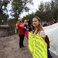 Eight people arrested at Sabal Pipeline protest