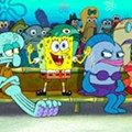 Enzian Theater drops on the deck and flops like a fish for a screening of 'The Spongebob Squarepants Movie'