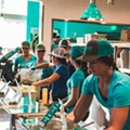 Bolay is donating 100% of their profits this weekend to World Central Kitchen in the Bahamas