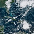 Tropical Storm Jerry strengthening in the Atlantic, expected to become a hurricane by Friday