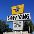 Scorched spuds: Orlando's Beefy King catches fire