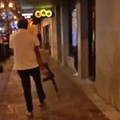 Video shows a man firing an AR-style rifle on the street in downtown Orlando