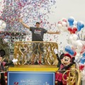 Tampa Bay Bucs' Gronkowski makes good on 'going to Disney World' promise day after Super Bowl win