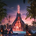 Of course there's a backstory to Universal's Volcano Bay