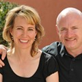 Former congresswoman Gabby Giffords and husband Mark Kelly to speak at Rollins this week