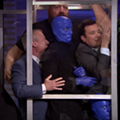 We are all this member of the Blue Man Group