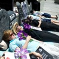 Orlando protesters stage 'die-in' at Marco Rubio's office over health care bill