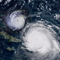 Here's Hurricane Irma compared to Hurricane Andrew