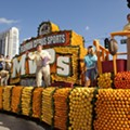Over a mile of orange-themed floats will invade downtown Orlando for the Florida Citrus Parade this weekend