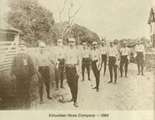 Volunteer Hose Company, 1884