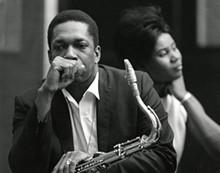 CHUCK STEWART - John & Alice Coltrane