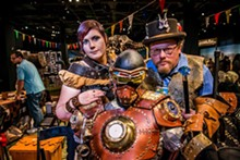 PHOTO COURTESY MAKER FAIRE ORLANDO - Central Florida Steampunk Association