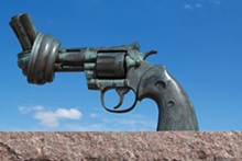 "CARL FREDRIK REUTERSWARD - ""The Knotted Gun"""