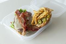PHOTO BY ROB BARTLETT - Western burger