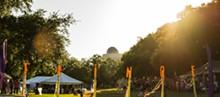 PHOTO BY ASHLEIGH GARDNER - The Orlando Fringe lawn