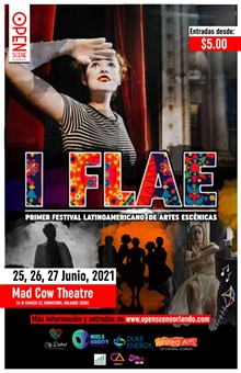 FLAE's 2021 Official Poster - Uploaded by Open Scene