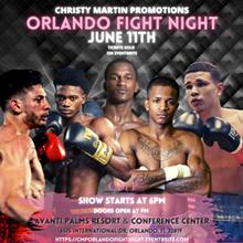 Hall of Famer Christy Martin Promotions Presents: Orlando Fight Night II - Uploaded by Karina Rivera