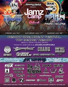 Jamz Camp Orlando Flyer - Uploaded by Eddie Roman