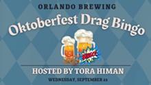 Oktoberfest Drag Bingo - Uploaded by Orlando Brewing Taproom
