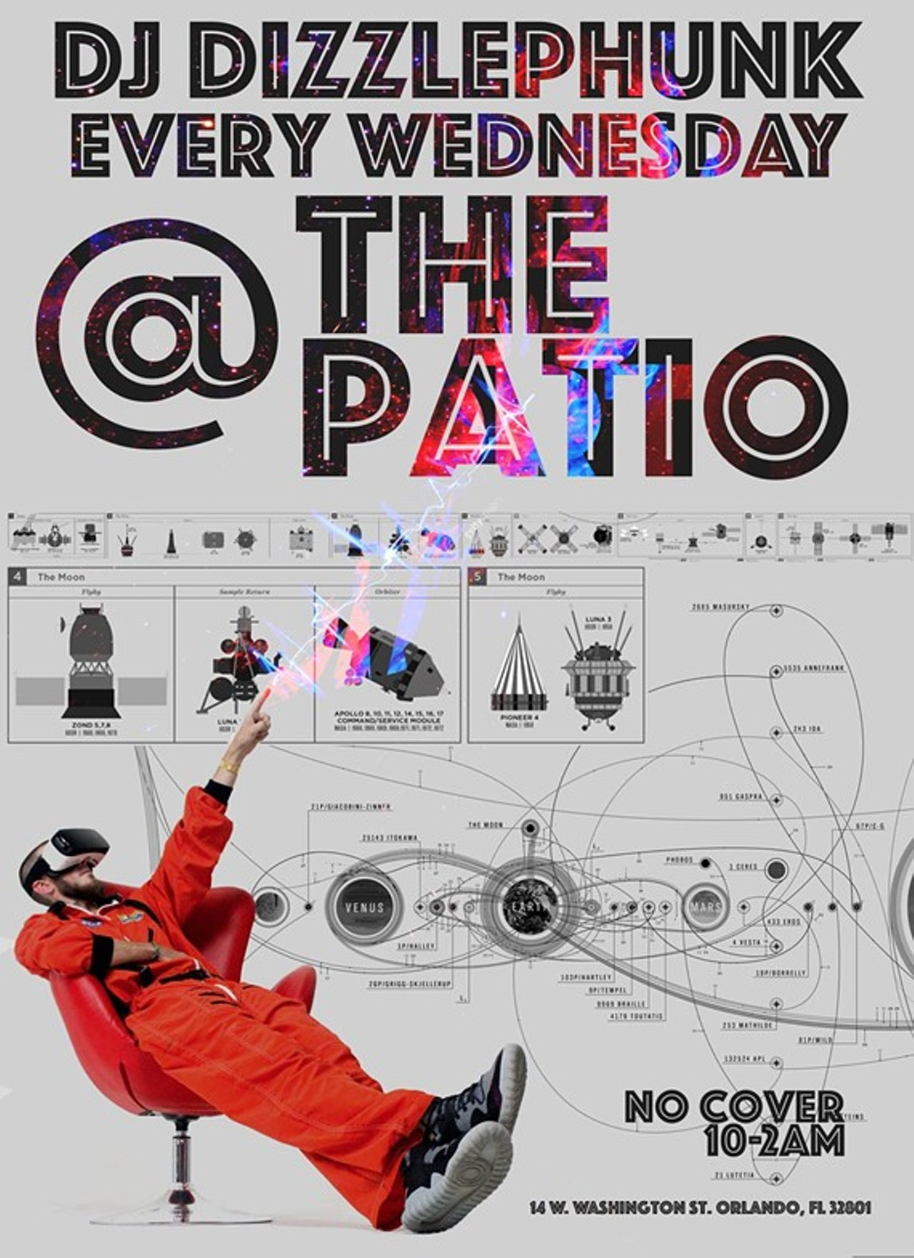 Dizzlephunk s Take Over The Patio Clubs Lounges