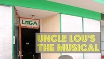 Uncle Lou stars in a musical at his entertainment hall