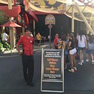 Universal Studios Florida tests metal detectors at Hollywood Rip Ride Rockit roller coaster