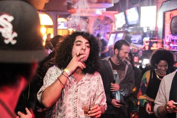 Upper echelon: Talib Kweli at Bullitt Bar