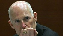 Rick Scott isn't sure what you mean. Could you repeat the question? [VIDEO]