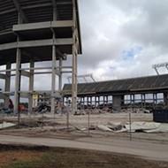 Time lapse video of the Citrus Bowl renovation
