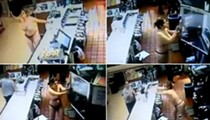 Topless woman goes bonkers at Florida McDonald's