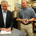 Oliver North book signing in Mount Dora, June 17