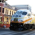 Buddy Dyer rides the rails for SunRail's Grand Opening Celebration