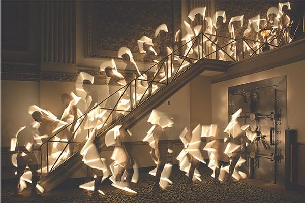 """Vicki DaSilva: """"Dude Descending A Staircase"""""""