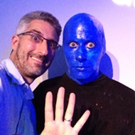 """Video: Blue Man Group """"Making Waves"""" at Orlando Science Center"""