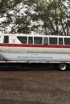 Walt Disney World Monorail car for sale on eBay