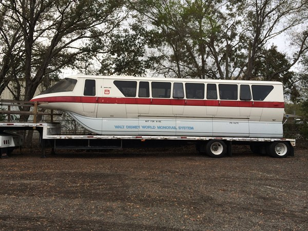 walt disney world monorail car for sale on ebay blogs. Black Bedroom Furniture Sets. Home Design Ideas