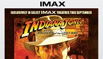 Want more Indiana Jones? Raiders in IMAX Extended One More Week