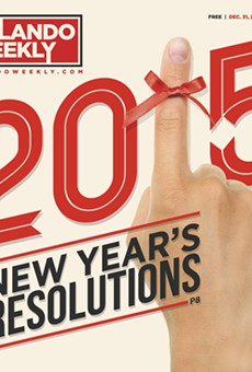 We propose some New Year's resolutions for some of our favorite people, places and organizations