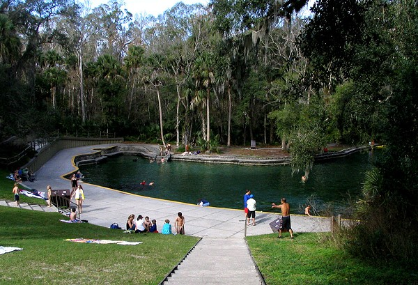 Wekiwa Springs photo via wikipedia