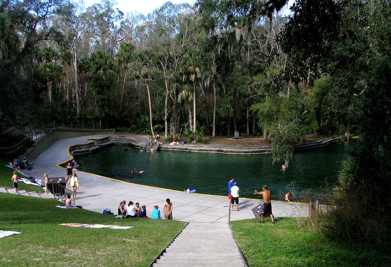 Wekiwa Springs photo via wikipedia