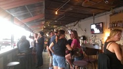 While the Lucky Lure might have just recently opened, it seems as though the bar already has a devoted crowd of resident barflies, a group who acted as though they've been coming here for years. We agree the outdoor, laid-back vibe of Lucky Lure could easily hook in Orlando drinkers.