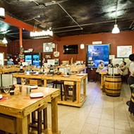 Wine lovers and pizza lovers unite at Winter Park's Wine Barn