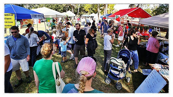 Winter Park Harvest Festival, Central Park's West Meadow