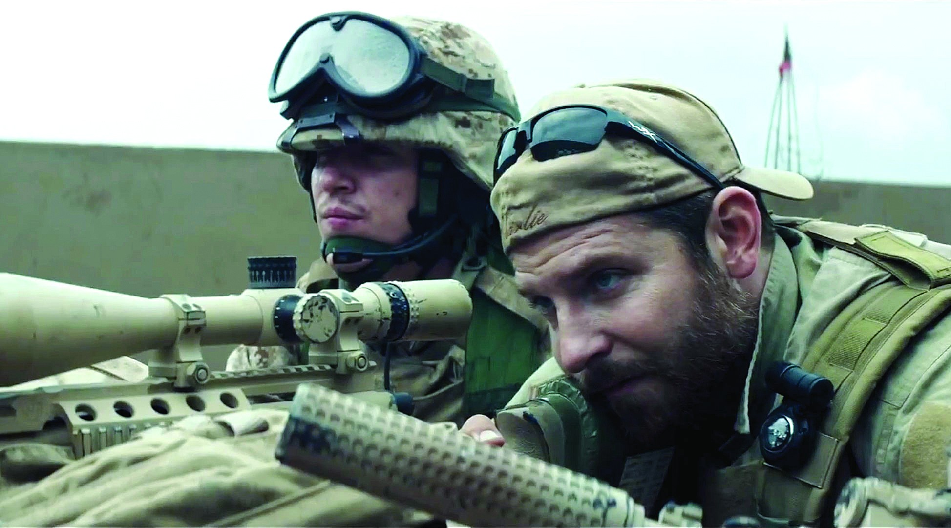 With 'American Sniper,' Clint Eastwood may as well be