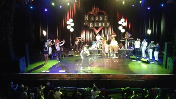 Zap Mama with Antibalas at House of Blues