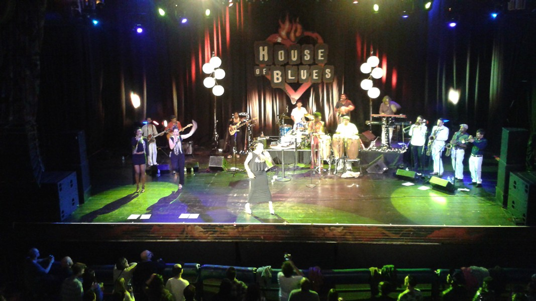 Zap Mama with Antibalas at House of Blues