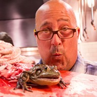 Zimmern comes to Orlando, eats no bugs, has great time