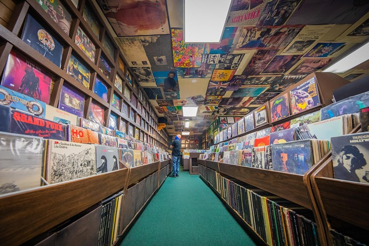 Iconic midtown Phoenix record store Tracks in Wax. - JACOB TYLER DUNN