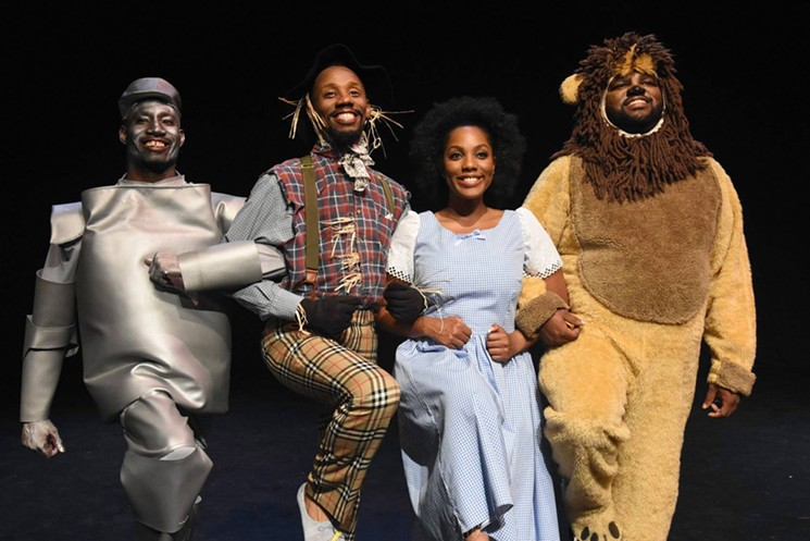 Throwback to a performance of The Wiz. - BLACK THEATRE TROUPE